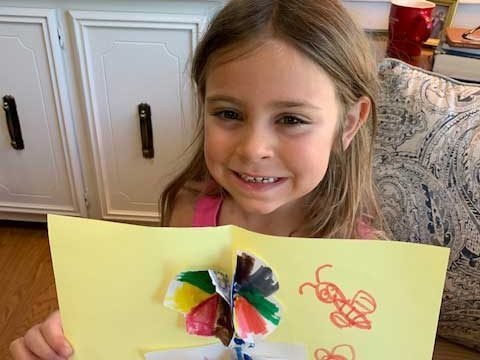 Camp Canoe-Be-Kind Campers with Kindness Crafts