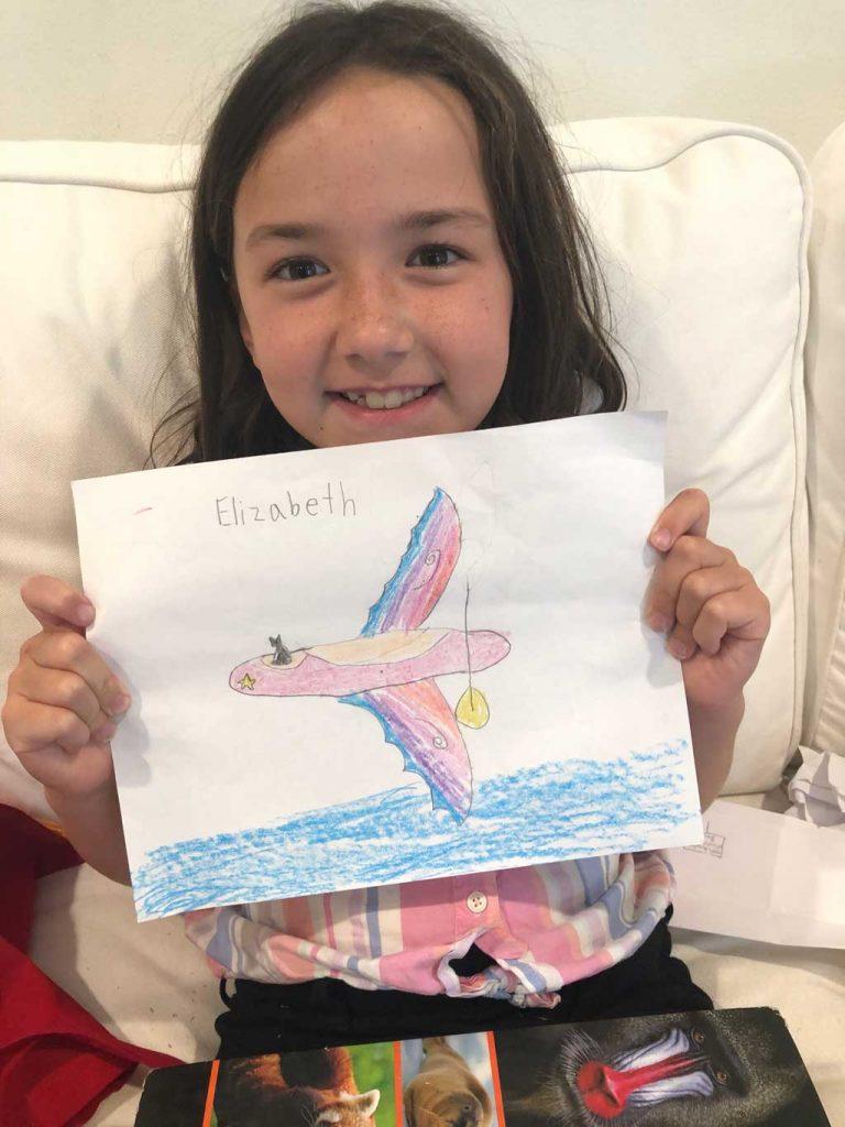 Virtual Camp for Children Elizabeth's Art
