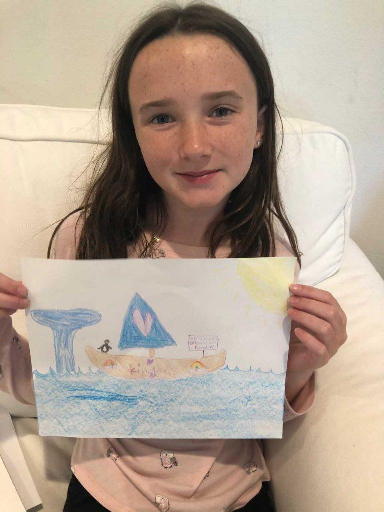 Virtual Camp for Children Imaginary Canoe