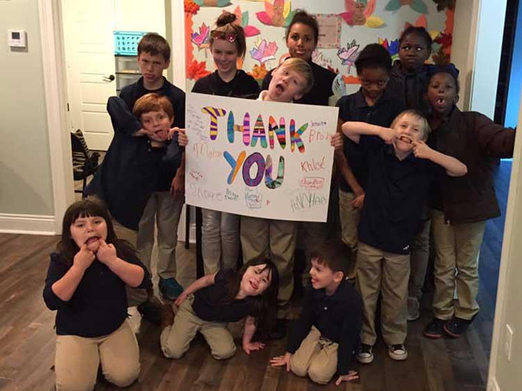 LANDers After School Program on Gratitude