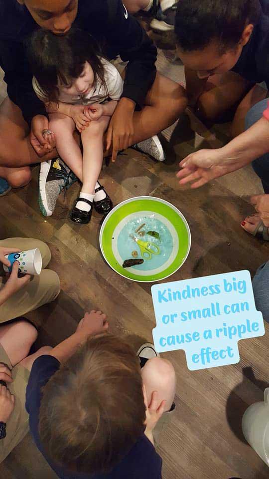 LANDers After School Program on Kindness