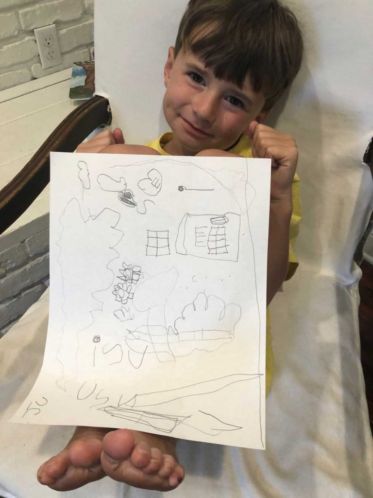 Virtual Camp for Children Artwork